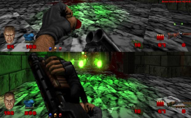 Brutal Doom Basic HQ HUD