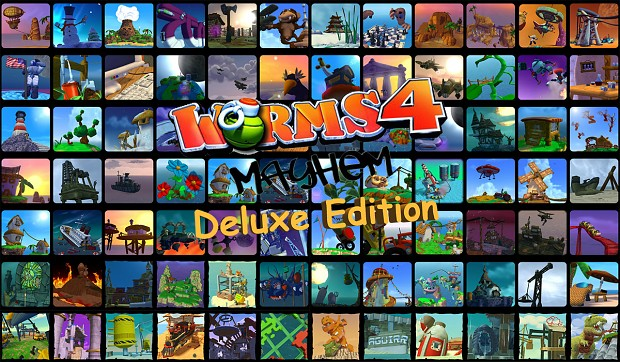 Worms 4 Mayhem Deluxe Edition v1.3