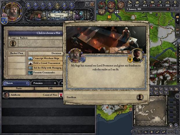 Regent: Assume Power