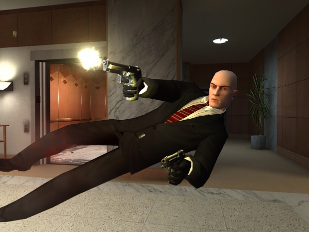 Agent 47 Fixed player model