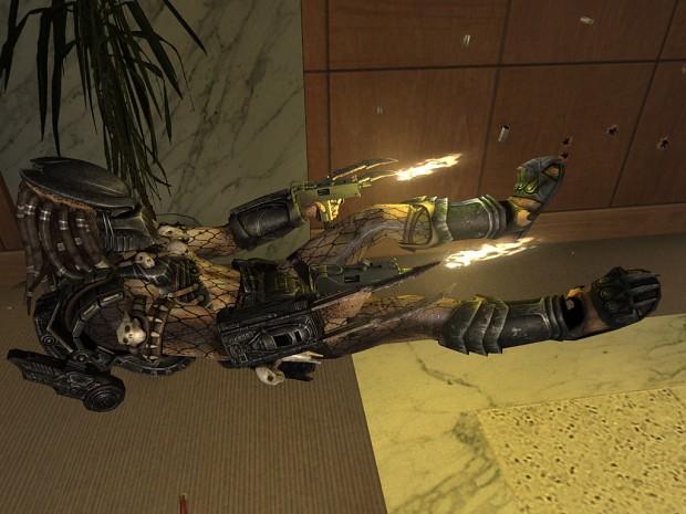 Predator player model