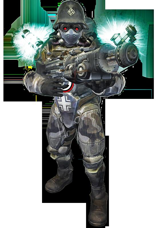 Wolfenstein 2009 Heavy Trooper