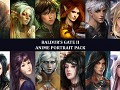 Anime Portrait Pack Baldur's Gate II