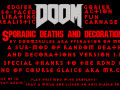 Sporadic Deaths and Decorations Version 1.0