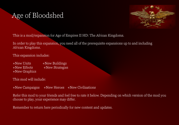 Age of Bloodshed 1.061