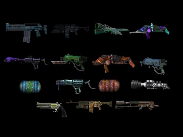Skrith War Weapon Pack 2.0 Update