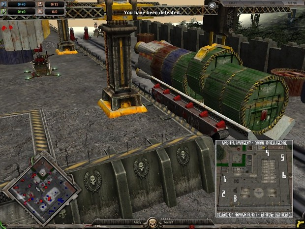 Tank Factory ver.1.5 DOW:DC map