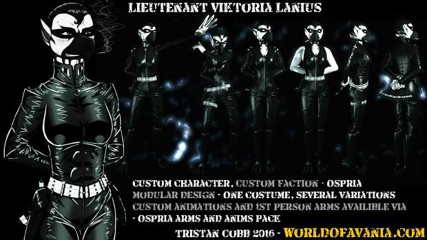 Viktoria - UT3 Character Model