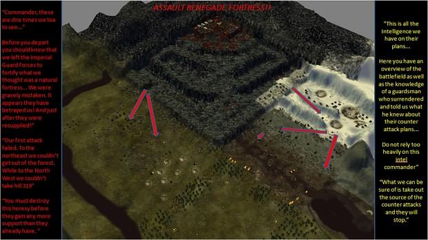 Assault Renegade Fortress v.2 DOW:DC scenario