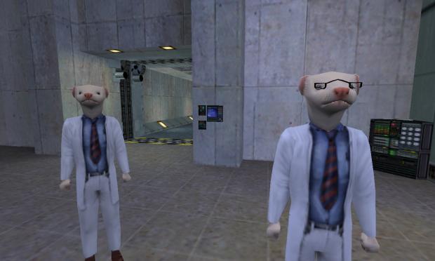 Half-Life: Ferret scientists (v1.0)