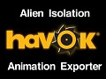 Alien Isolation Animation Exporter