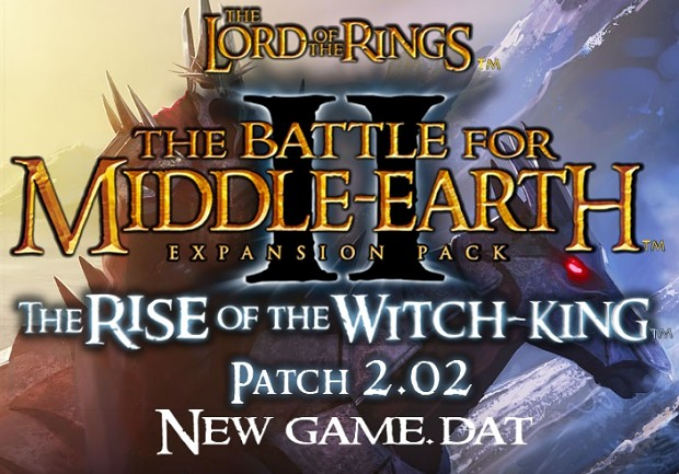 BFME1 Offical EA Patch 103 - The 3rd Age - BFME