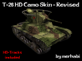 T-26 HD Camo Skin - Revised