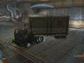 Foundry with driveable Trucks