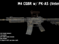 M4 CQBR w/ PK-AS scope