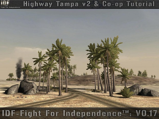 Co-op mode tutorial and Highway Tampa v2 map