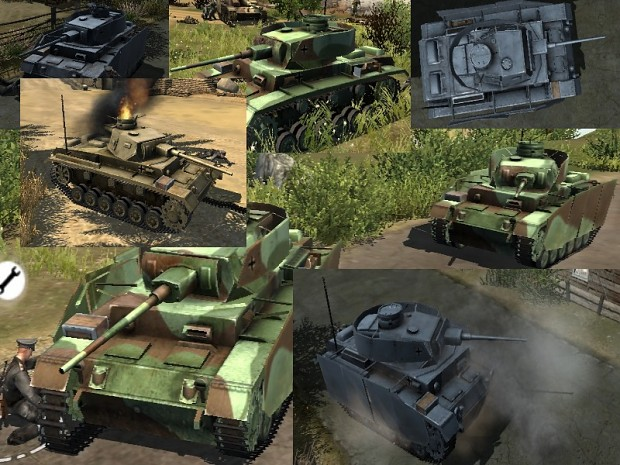 MoW Ultra HD Panzer III Pack