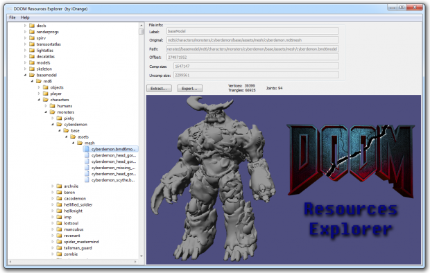 DooM Resources Explorer v0.4
