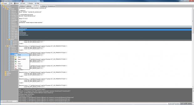 QScript Model Editor