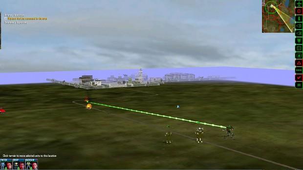 Clan Wars for Mech Commander Omnitech