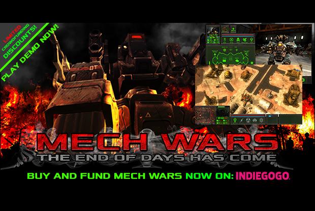MECH WARS PRE&-ALPHA DEMO