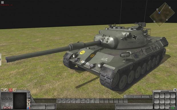 leopard1(联邦德国豹I式主战坦克)