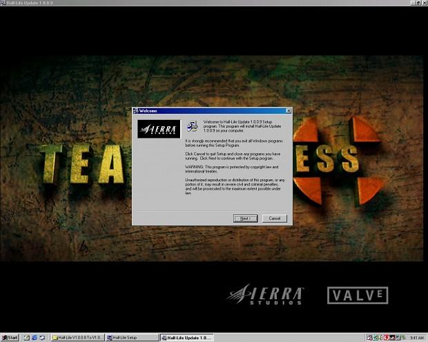 Half-Life Updates Pre & Post 1.1.0.0