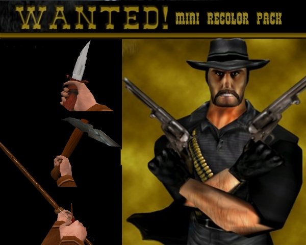 Wanted! Mini recolor pack