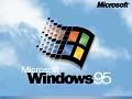 Windows 95 Boot Screen for office computer