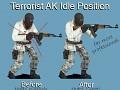 New Terrorist AK-47 Idle Position