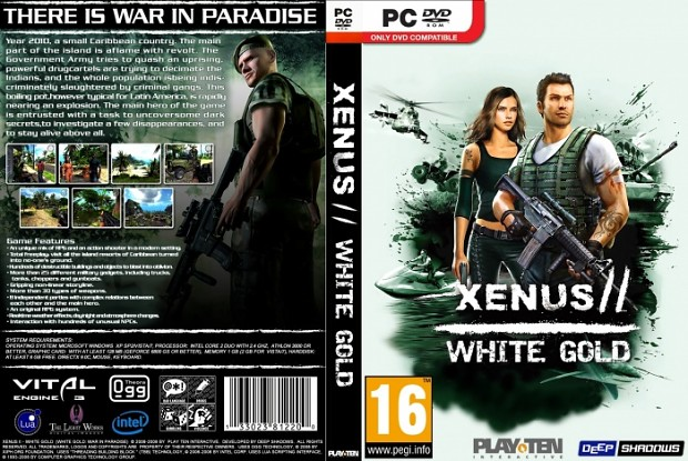Xenus 2 White Gold russian soundpack : sounds-fix for english versions