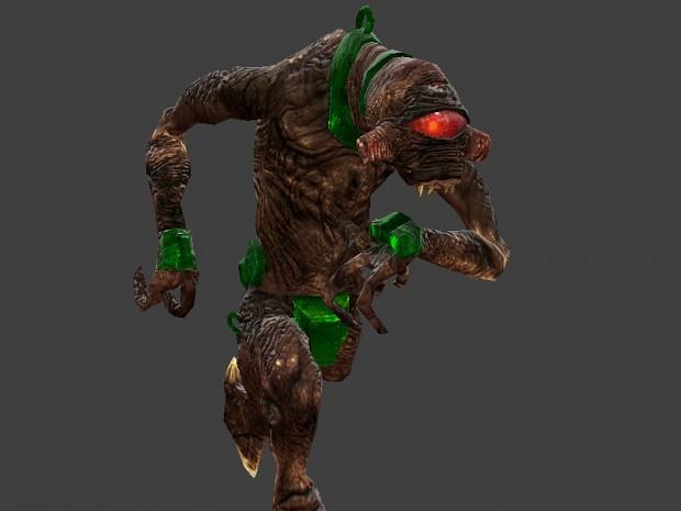 Custom Black Mesa Vortigaunt Reskin for HL: Source