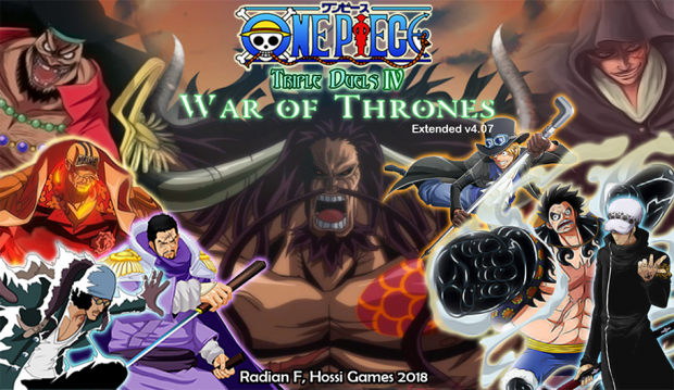 One Piece - Triple Duels IV/War of Thrones v4.07