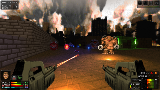 HXRTC HUD 7.0 for Brutal Doom v20b