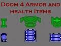 Doom 4 Armor and Health Items