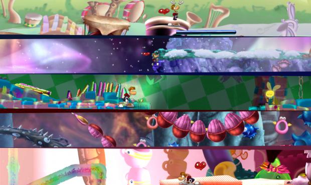 Rayman Origins World Mods