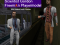 Gordon Freeman Scientist Player Model (NonColored)