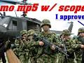 Mp5 cammo w/ scope