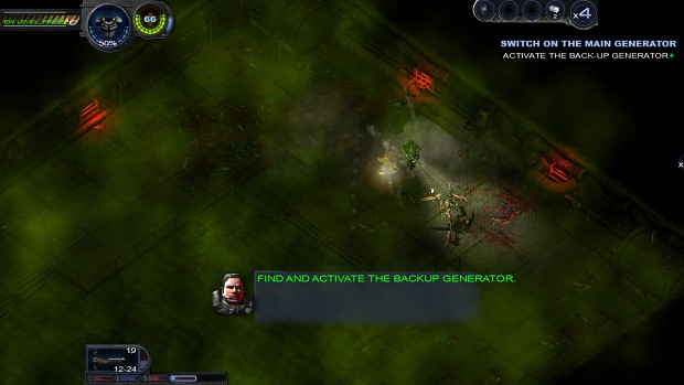 Alienshooter 2 reloaded 16:9 hd mod with hud.