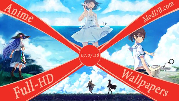 Old Anime Wallpaper's (Full-HD) - 07.07.16