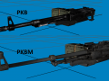 PKB and PKBM machineguns