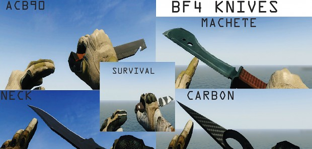 BF4 Knives Pack