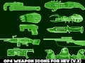 Op4 weapon icons in HEV - vol.2