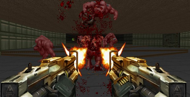 Doom 4/2016 Weapons for Brutal Doom test 2