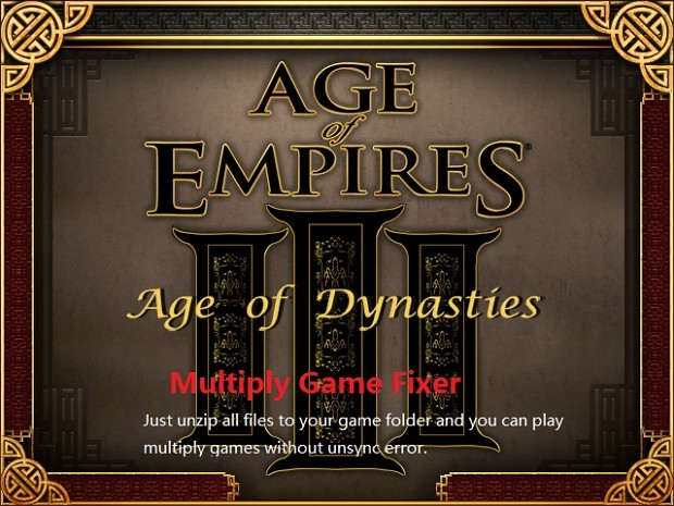 AOD Multiplay Games Fixer