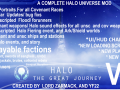 The Great Journey Halo Universe mod.
