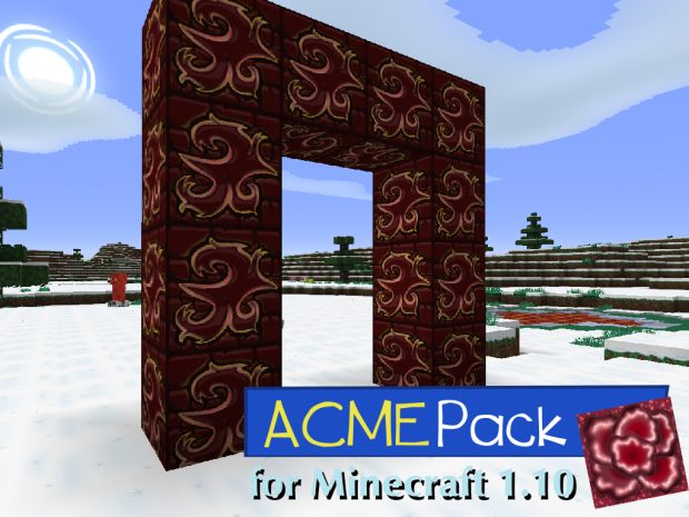 ACME Pack 64x for Minecraft 1.10