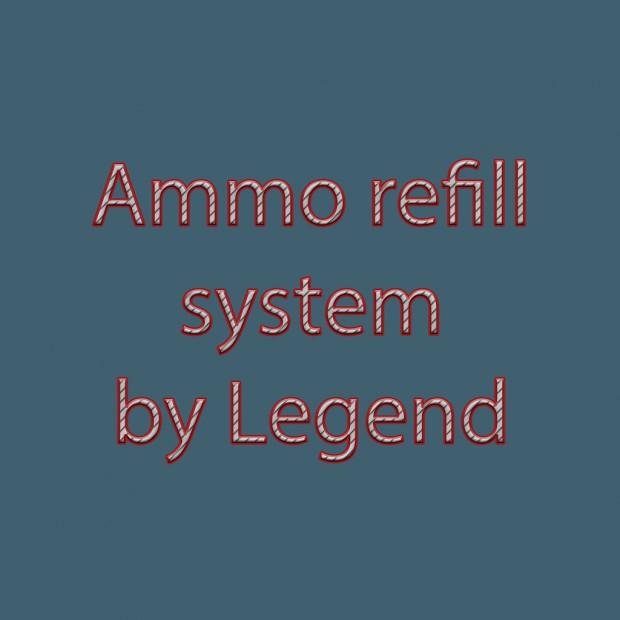 Ammo refill system[FIX]