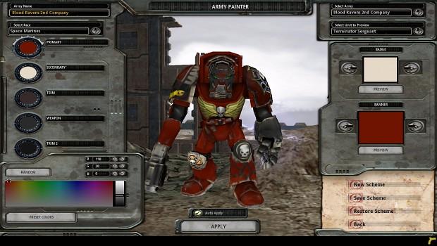 Terminator Sergeant Mod for Dawn of War 1.51