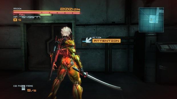 Reshaded Murasuwa blade